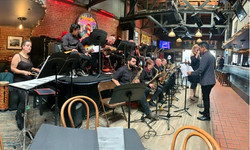 Conducting the LAHC Big Band
