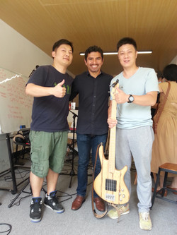 Bass Masterclass, China