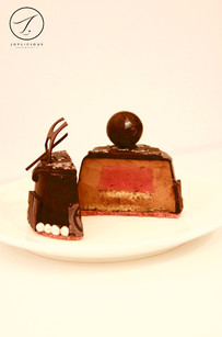 Chocolate Mousse with Respberry