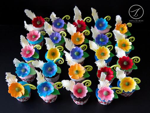 Fantasy Flowers Cupcakes