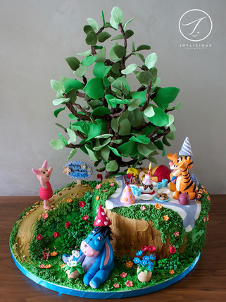 Winnie The Pooh Picnic In The Woods
