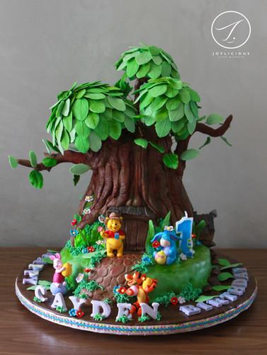 Treehouse Winnie The Pooh