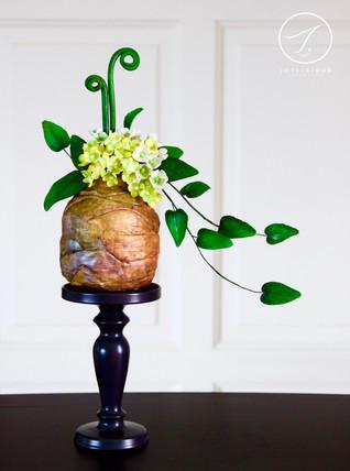 Clay Pot Ikebana