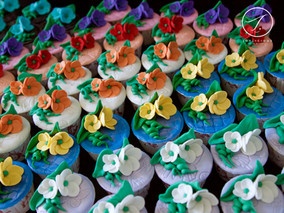 Colours Of The Spring Cupcakes