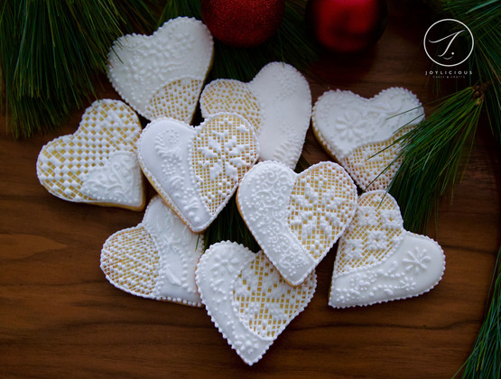 Royal Icing Lace Cookies