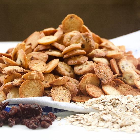 Oat & Raisin (crunchy, bite-size)