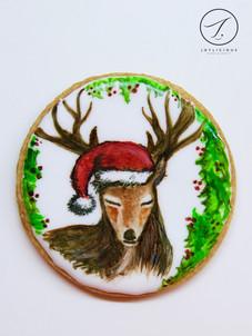 Christmas Deer Cookie