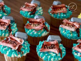 Thor Cupcakes