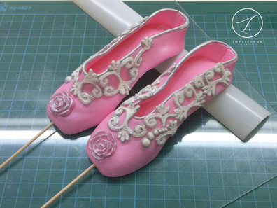 Shabby Chic Ballet Shoes