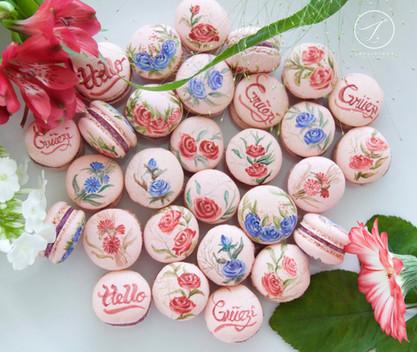 Respberry Macaron