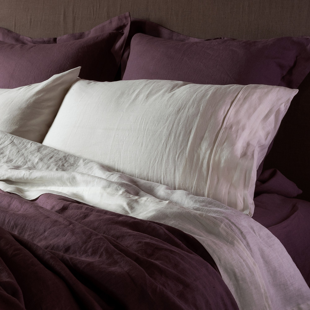 Linen Bedding from natural flax