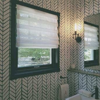 custom roman curtains