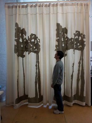 personalized window curtains