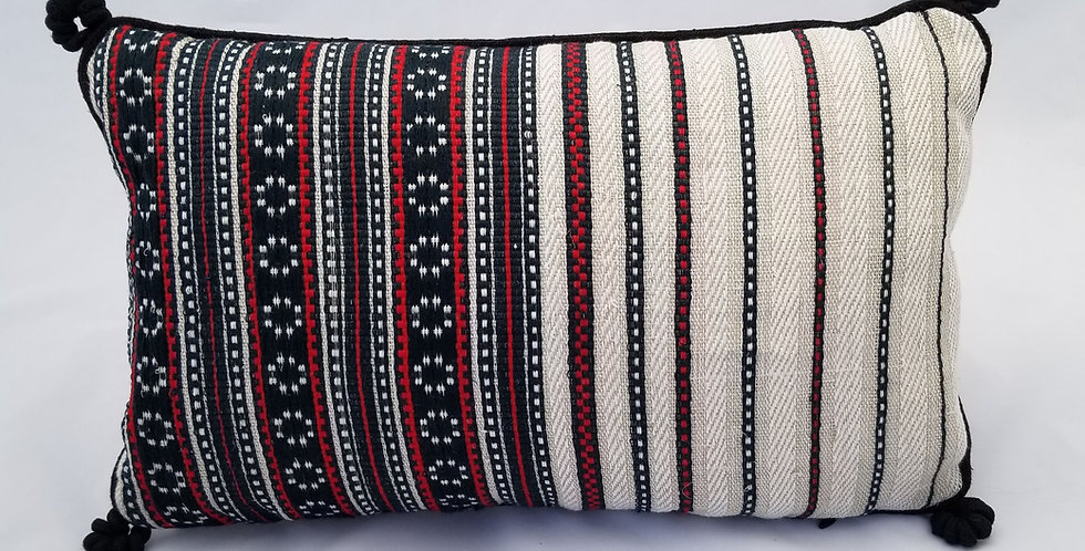 Hand Woven Decorative Pillow Zirka