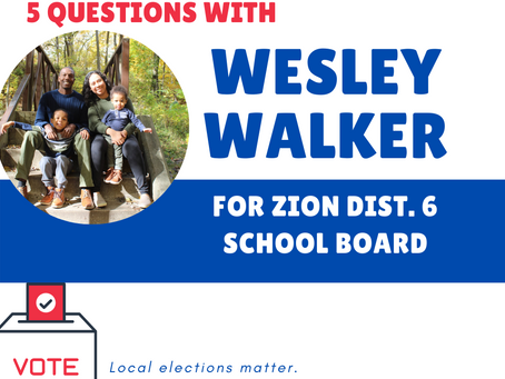 Who's on your ballot? Meet Wesley Walker