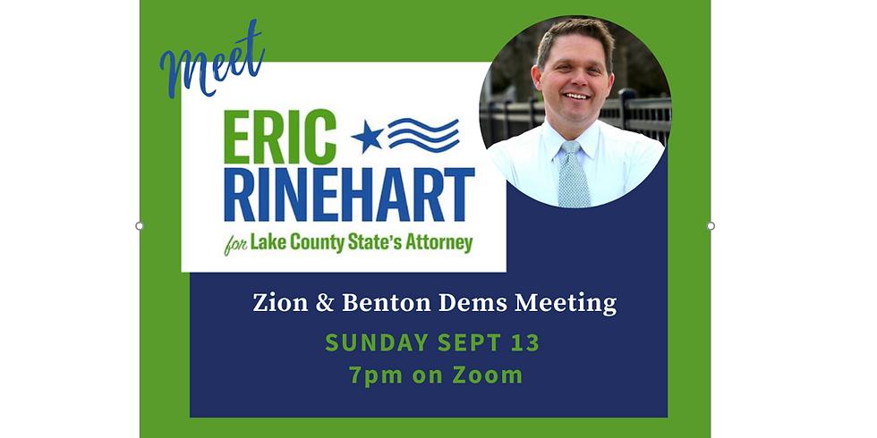 September Meeting - Guest: Eric Rinehart