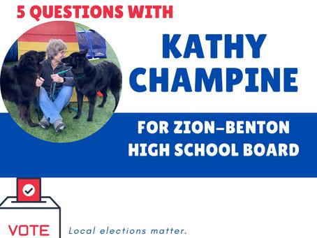Who's on your ballot? Meet Kathy Champine