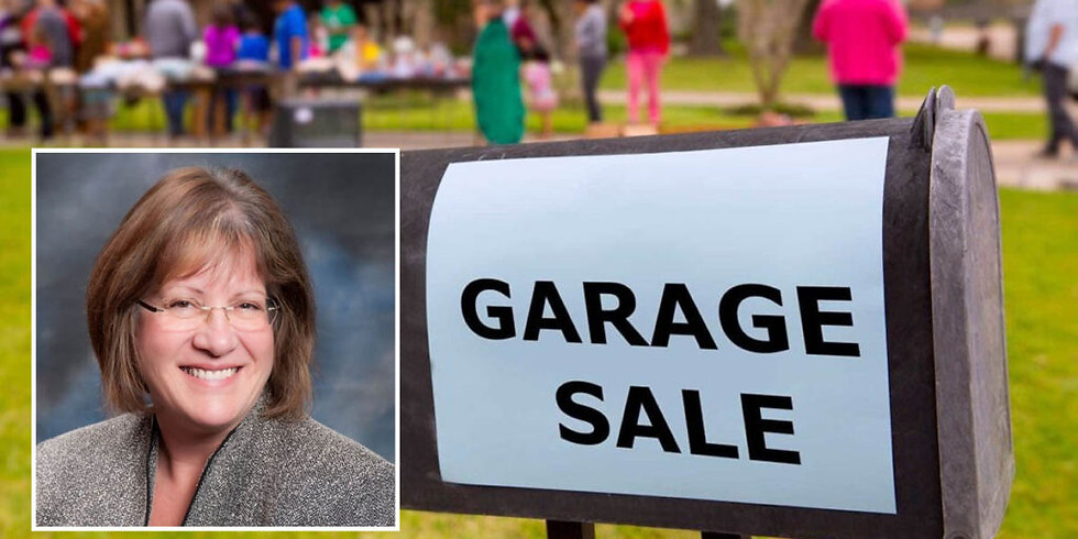Garage Sale Aug. 21-23 for Diane Hewitt Re-election Campaign (NO RSVP Required)