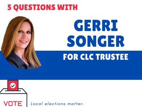 Who's on your ballot? Meet Gerri Songer