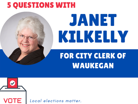 Who's on your ballot? Meet Janet Kilkelly