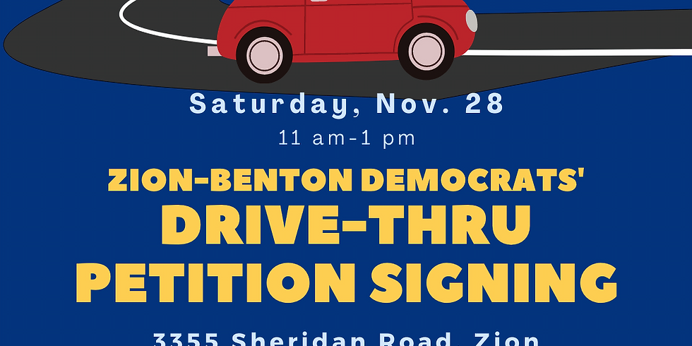 Drive-thru Petition Signing ( for Municipal Elections April 2021)
