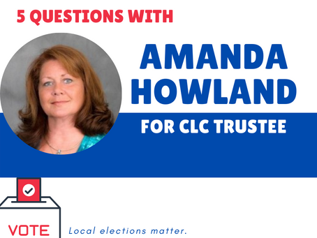 Who's on your ballot? Meet Amanda Howland