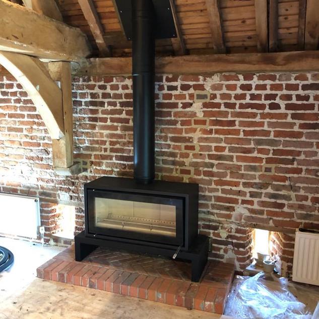 A Stovax Studio 2 - warm at last!
