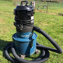 Specialist vacuum with HEPA Filtration System.