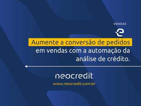 Aumente a conversão de pedidos em vendas com a automação da análise de crédito.