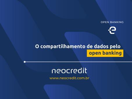 O compartilhamento de dados pelo Open Banking.