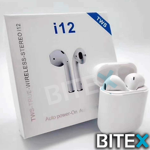 Auriculares i12s BT Tipo Iphone