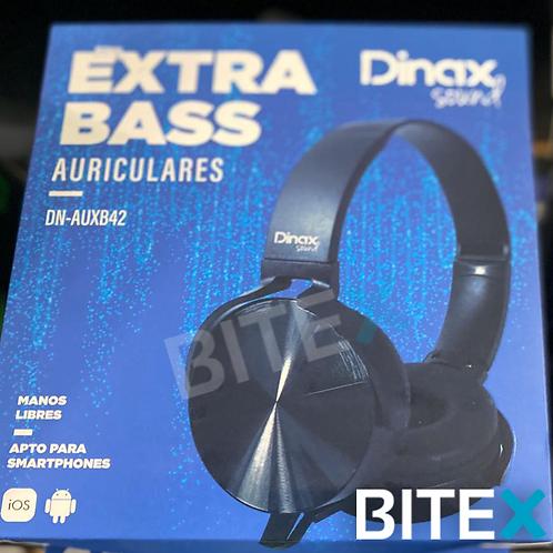 Auricular Dinax Extra Bass
