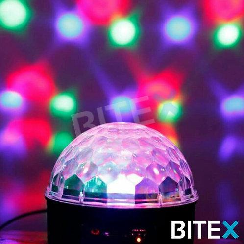 Media esfera RGB