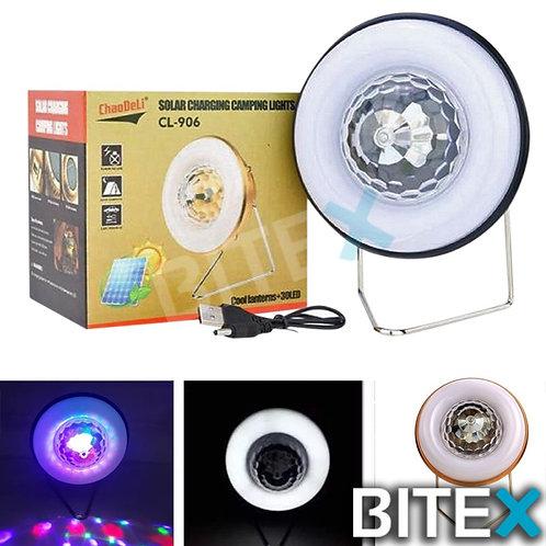 LAMPARA CAMPING LED (BLANCA Y de COLORES)
