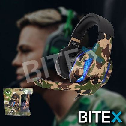 Auriculares Gamer Gtc Hsg-518 C/luces Pc Ps4 Xbox Headset