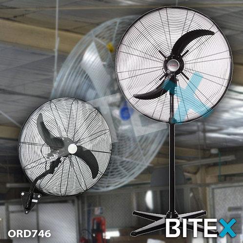Ventilador Industrial de PIE + PARED 30 Pulgadas