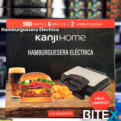 Hamburguesera eléctrica