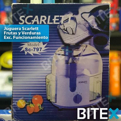 Juguera Scarlett frutas y verduras
