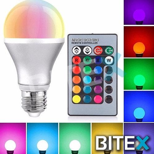 Lampara RGB con control 7W