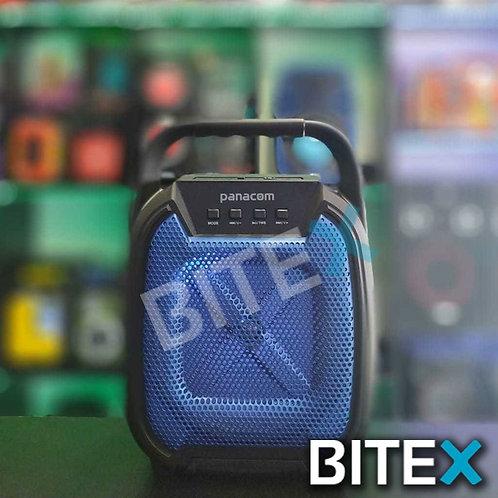 Parlante Portatil Bluetooth Panacom Led Rgb T40