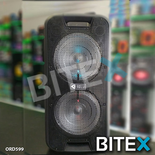 Parlante Portátil Oryx T812 Bluetooth Microfono Radio Usb