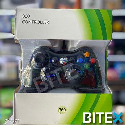►Joystick Mando Xbox 360 Con Cable Compatible Pc Usb Consola◄