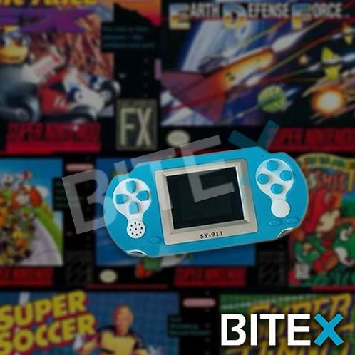 Consola Portatil Juegos Retro 8 Bits A Pilas