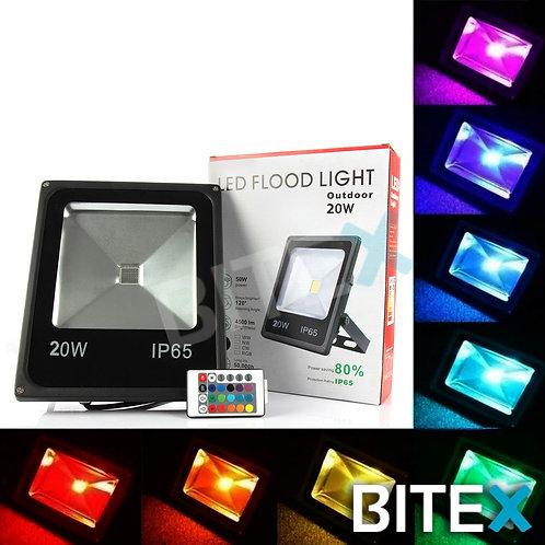 Reflector led RGB 20W