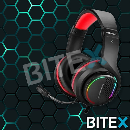 Auriculares Headset Gamer Xtrike-me 7.1 Luz Led Rgb Usb