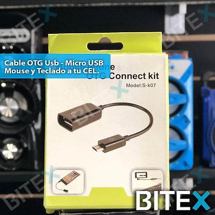 Cable OTG USB - Micro USB
