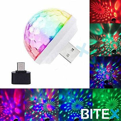 MINI LAMPARA RGB USB- MICRO USB