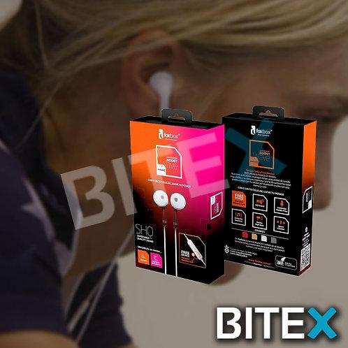 Auricular Bluetooth Inalámbrico Deportivo Foxbox Wave