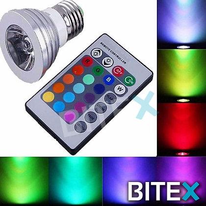 LAMPARA DICROICA RGB + CONTROL