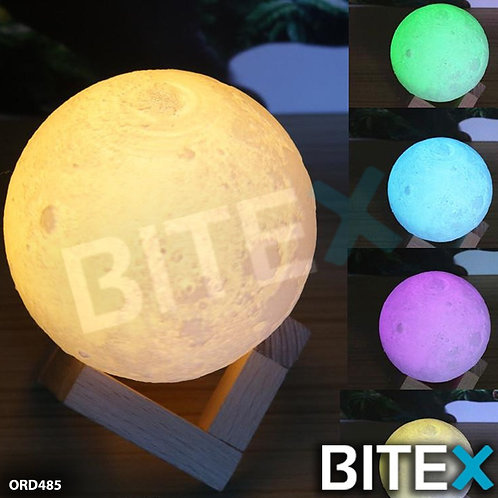 LAMPARA RGB COLORES EFECTO LUNA